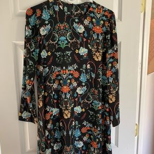 Zara mini dress, 70s style